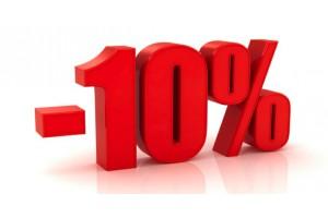 Скидка 10% (подробности в новости)